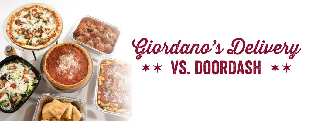 Giordano's Delivery vs. DoorDash