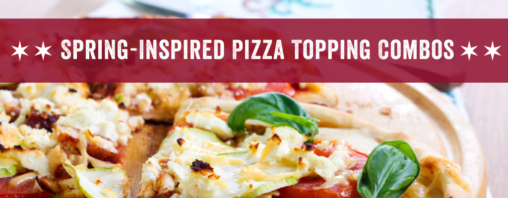 Spring-Inspired Pizza Topping Combos