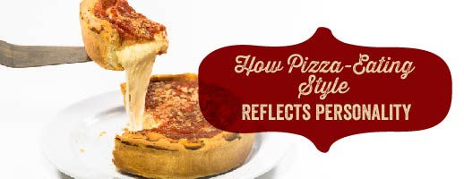 How does your pizza eating style reflect your personality?