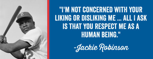 I'm not concerned with your liking or disliking me... all I ask is that you respect me as a human being.