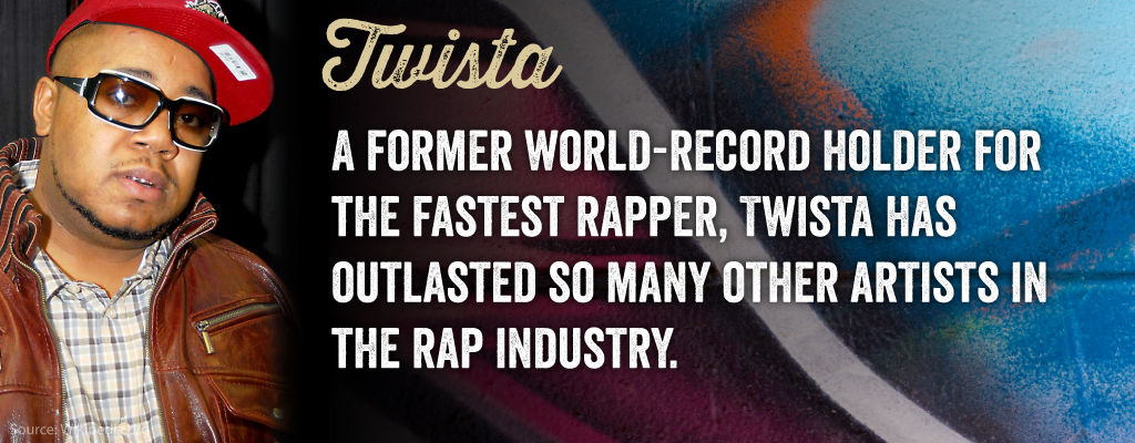 A Former World-record holder for the fastest rapper, Twista has outlasted so many other artist in the rap industry.