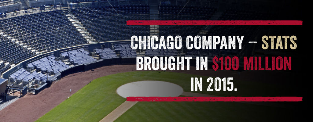 Chicago Company - Stats Brought in $100 million in 2015.