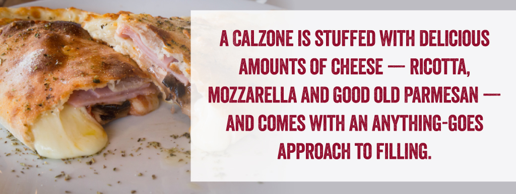 what is a calzone