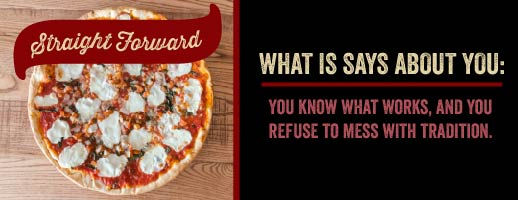 Straight Forward Pizza Eating Style