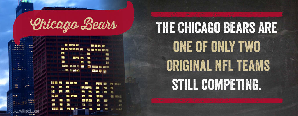 The Chicago Bears are one of only two original NFL teams still competing.
