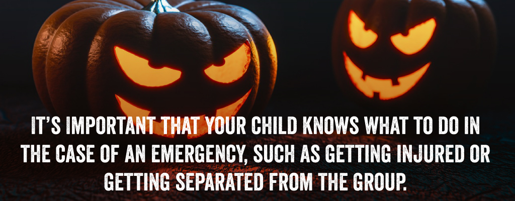 It's important that your child knows what to do in the case of an emergency.