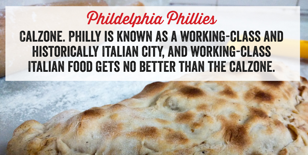 The Philles are a calzone.