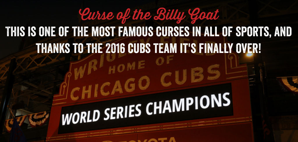 The curse of Billy the Goat is over!