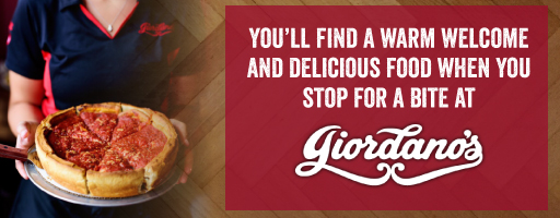 Giordanos in downtown indianapolis