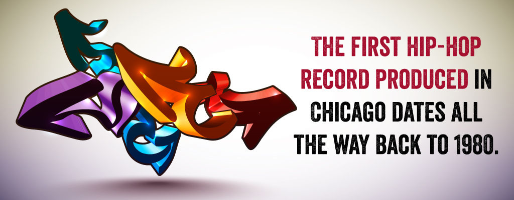 The fist hip hop record produced in Chicago dates all the way back to 1980.