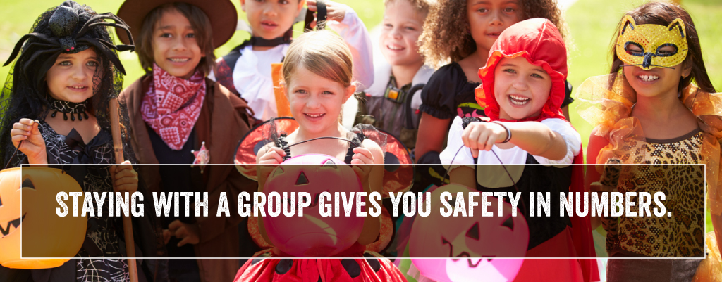 staying with a group gives you safety in numbers