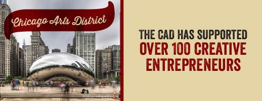 The CAD has supported over 100 creative Entrepreneurs