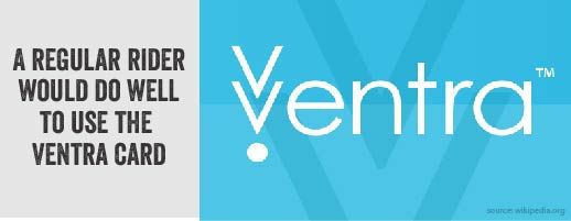 Regular riders should get the ventra card.