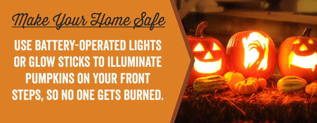 Use battery-operated lights