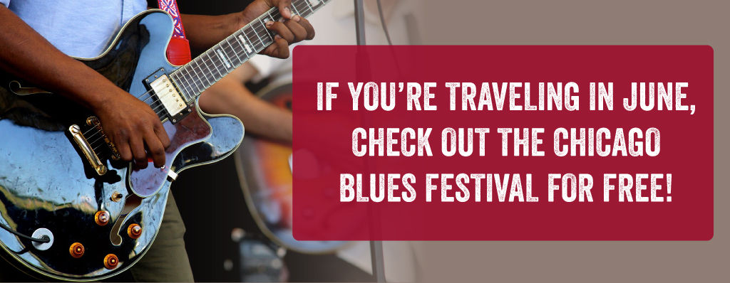 Blues Festivals are free!