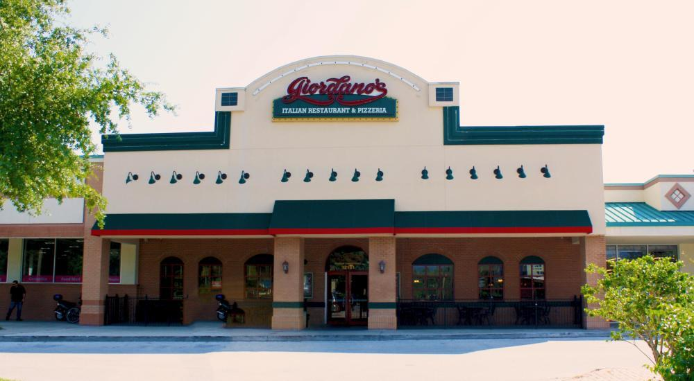 Giordano S Pizza Disney Lake Buena Vista Orlando Fl