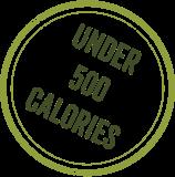 Under 500 calories