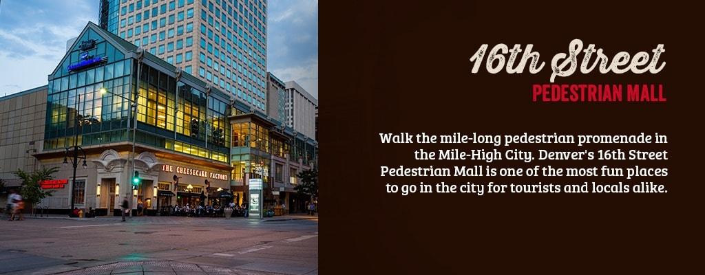 16th street pedestrian mall