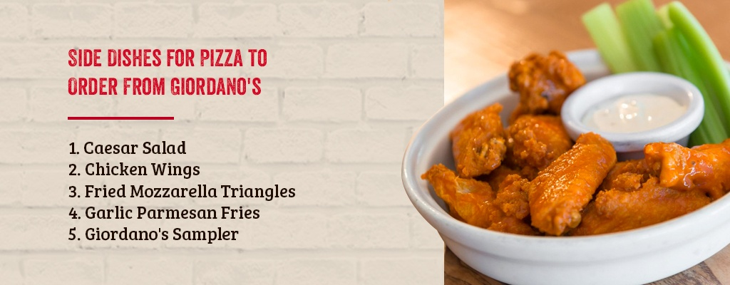 side dishes for pizza