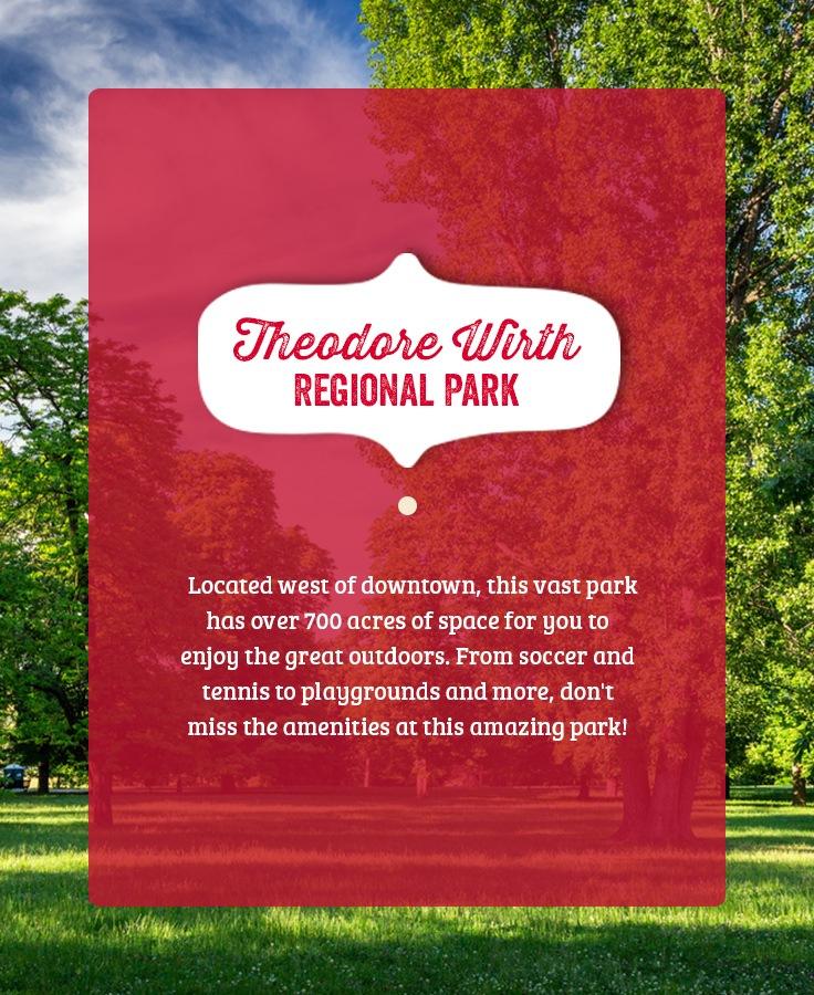 Theodore Wirth Regional Park in Minneapolis