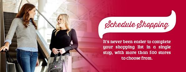 Schedule Shopping