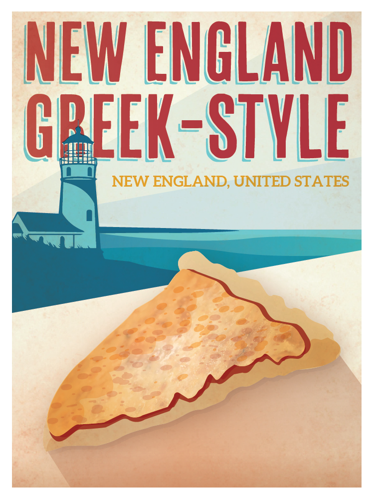 New England Greek-Style