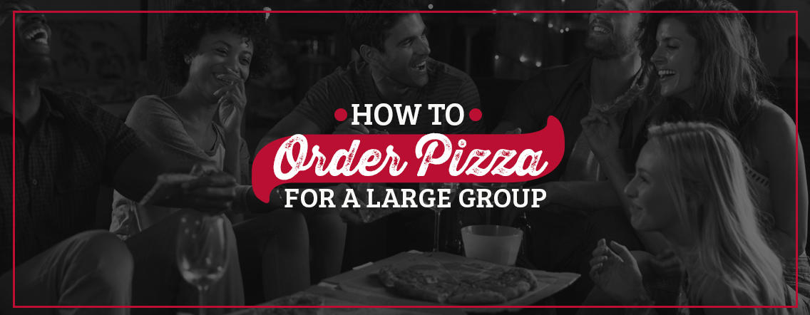 order pizza for group