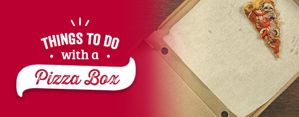Things to do with a pizza box