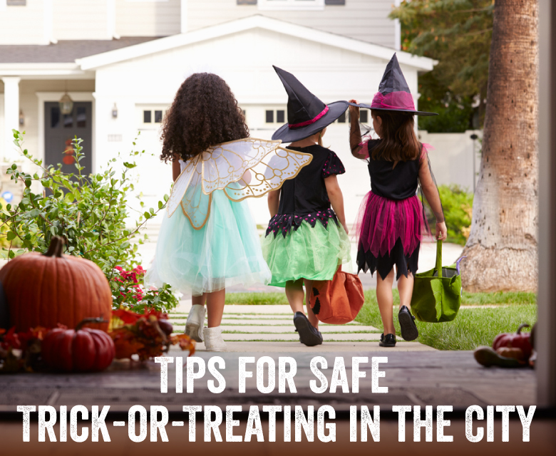 Tips for Safe Trick-or-Treating in the City