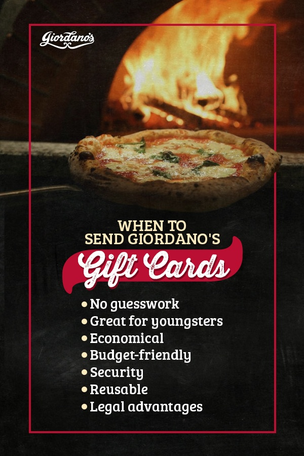 When to Send Giordano's Gift Cards