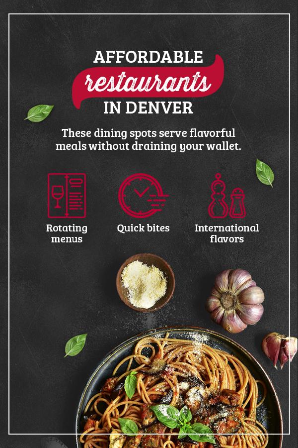 Affordable Restaurants in Denver